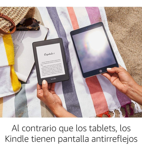 nuevo kindle paperwhite 2018 32gb bluetooth sumergible