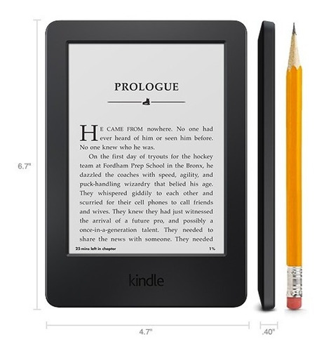 nuevo kindle touch 4gb (1500 libros) audiolibros ebook ereader pantalla con luz led