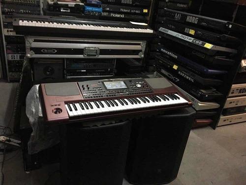 nuevo korg pa1000 arranger 61 teclas teclado usb / pa1000