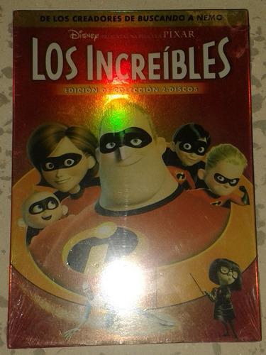 nuevo los increibles disney pixar edicion especial 2discos