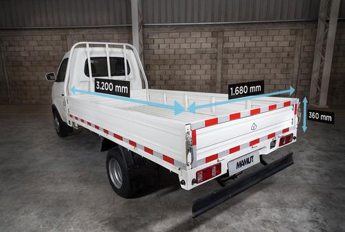 nuevo mamut !! cabina simple dual, carga hasta 1,8 t