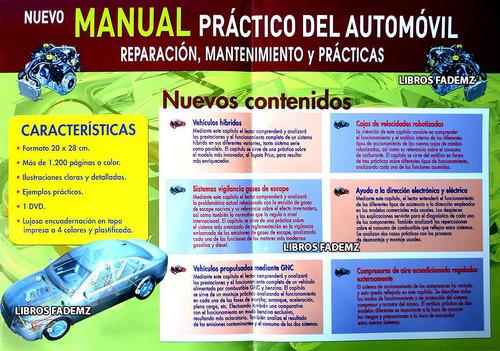 nuevo manual práctico del automóvil + dvd