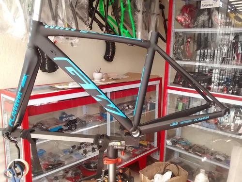 nuevo marco flamma gw para bicicletas de ruta rin 700