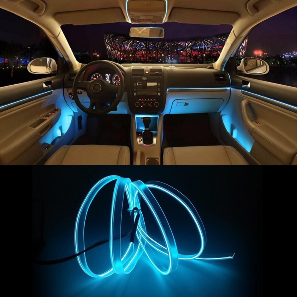 Nuevo modelo el coche fr o luz line coche luces interior co en mercado libre - Poner luz interior coche ...