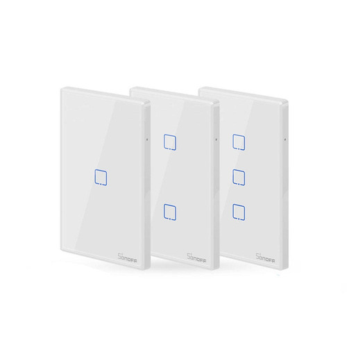 nuevo modelo interruptor sonoff touch tx wifi 1 canal  vshop