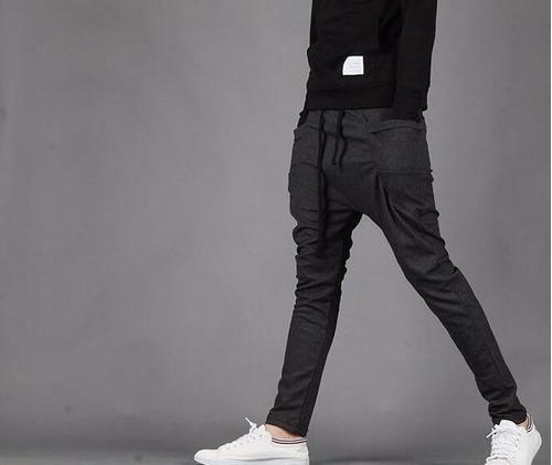 nuevo modleo pants harem skinny slim gris negro