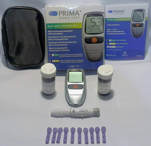 nuevo monitor de colesterol y triglicéridos. fda / ce a...