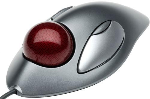 nuevo mouse trackball logitech trackman marble ambidiestro