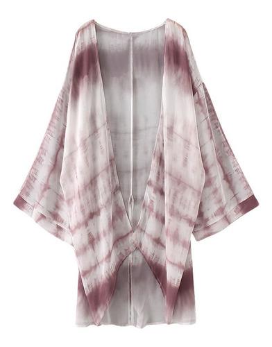 nuevo mujeres gasa kimono rebeca playa cubierta arriba contr