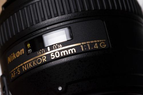 ¡nuevo! nikon 50mm 1.4 g full frame + obsequio filtro uv