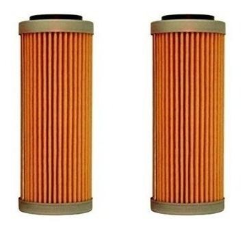 nuevo oem ktm filtros de aceite 2 pack 350 400 450 500 530 e