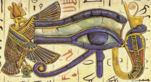 nuevo ojo de horus - udyat-  acero - original - premium
