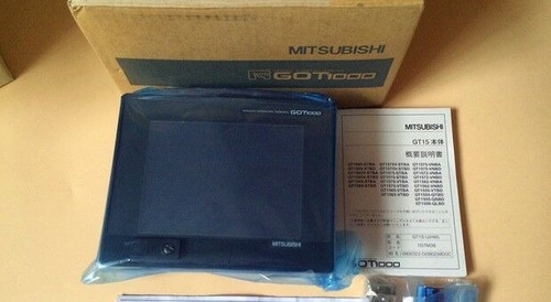 nuevo original mitbusihi táctil pantalla gt1550-qlbd hmi