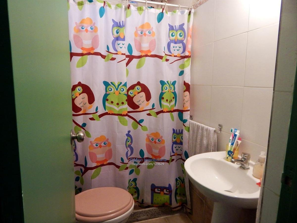 nuevo parís. 1 dormitorio + cochera y patio. u$s 39000
