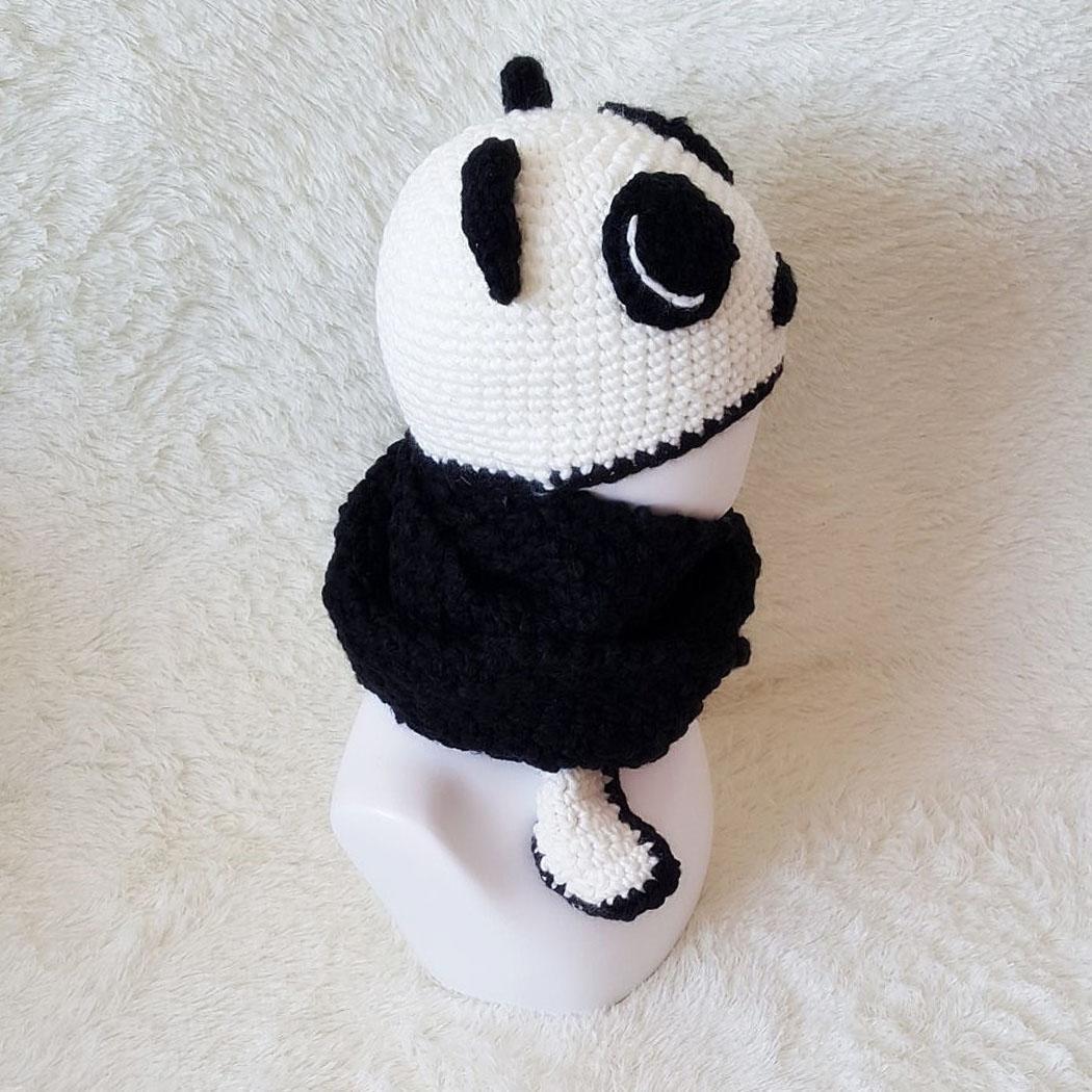 Nuevo Patrón De Diseño De Panda Interesante Sombrero De Ot ...