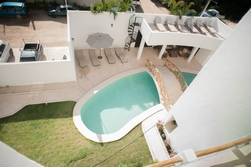 nuevo penthouse con la increíble vista de tulum