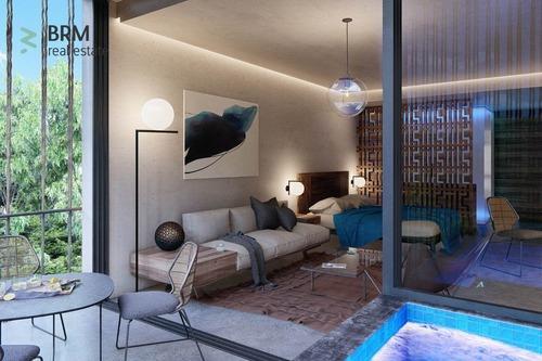 nuevo penthouse ubicado en la región 4, con alberca privada, terraza