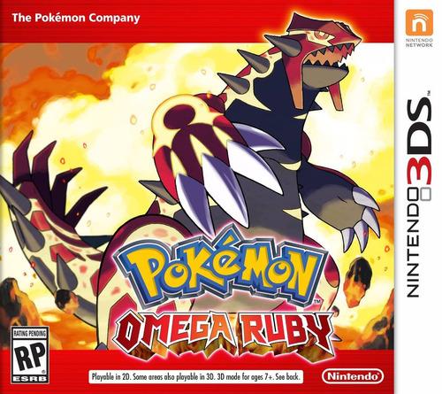 nuevo pokemon omega ruby 3ds