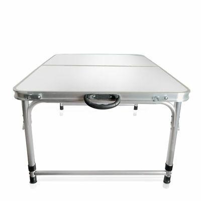 nuevo portátil aluminio plegable mesa picnic barbacoa jardín