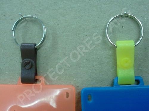 nuevo protector tarjeta sube c/eslabon y argolla x100un