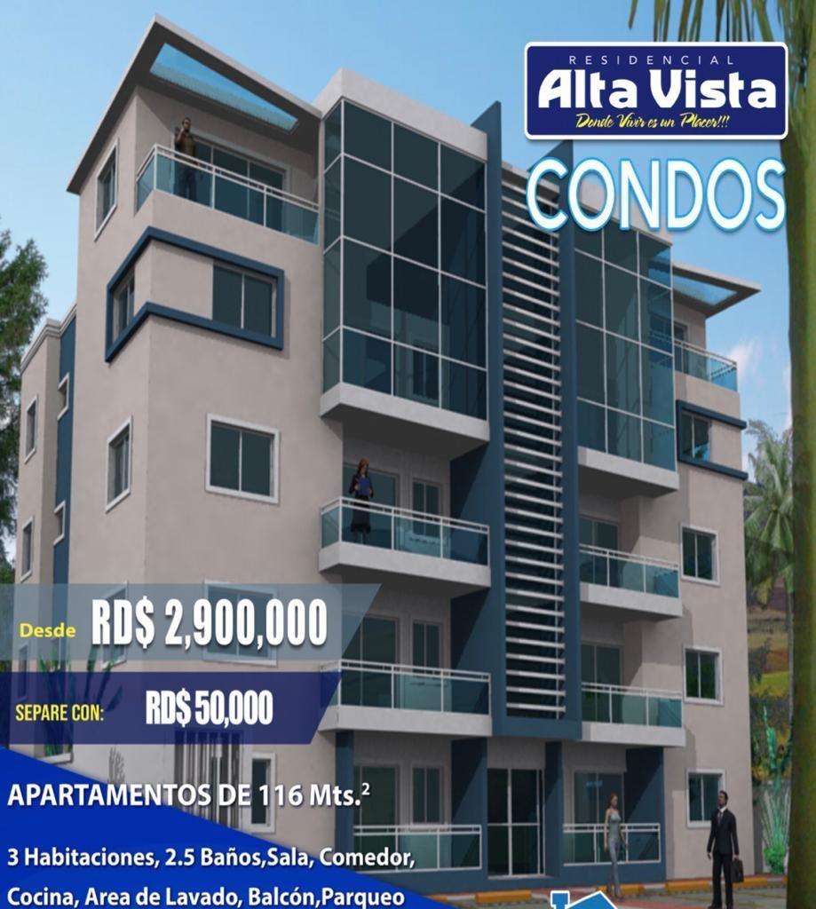 nuevo proyecto de apartamentos, alta vista condos, 2.9