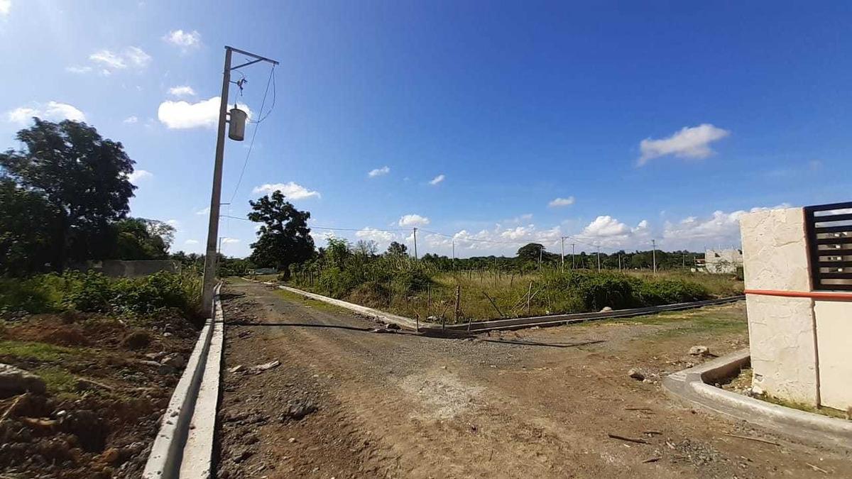 nuevo proyecto de solares en una área recidencial