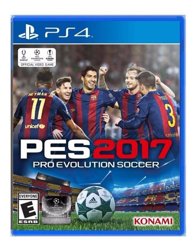 nuevo ps4 playstation 4 pro evolution soccer 2017 pes 17