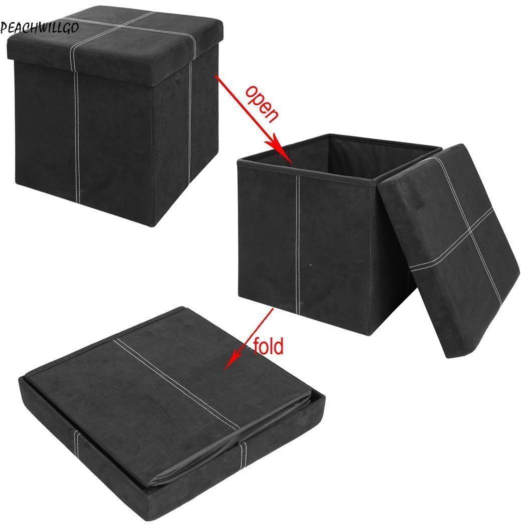 Hermosa Cubo Blanco Muebles Otomana Imágenes - Muebles Para Ideas de ...