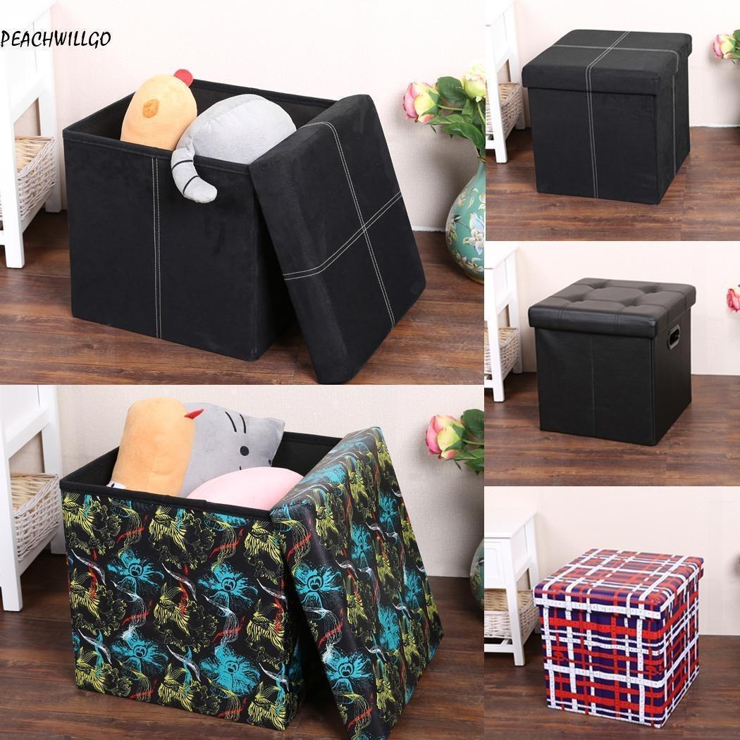 Bonito Cubos Otomana Con Muebles De Almacenamiento Colección ...