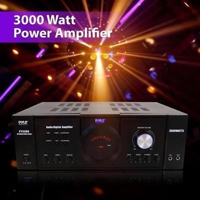 nuevo pyle pt3300 3000 vatios 4 canales 3u amplificador de