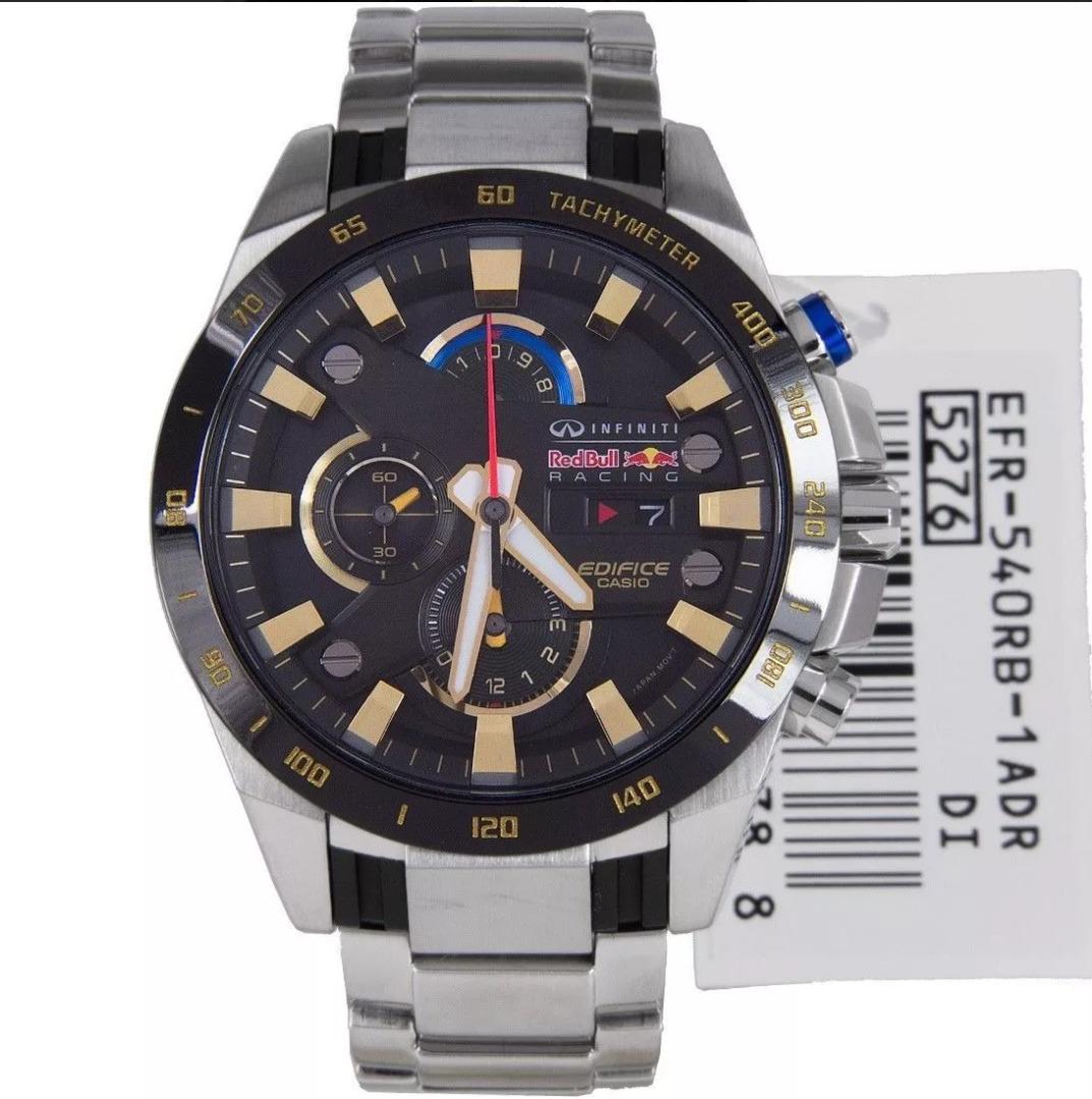 ea1cdfa04b57 nuevo reloj casio edifice efr-540rb-1av hombre redbull. Cargando zoom.
