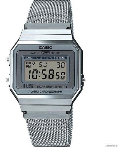 nuevo reloj casio vintage digital a700wm-7avt original