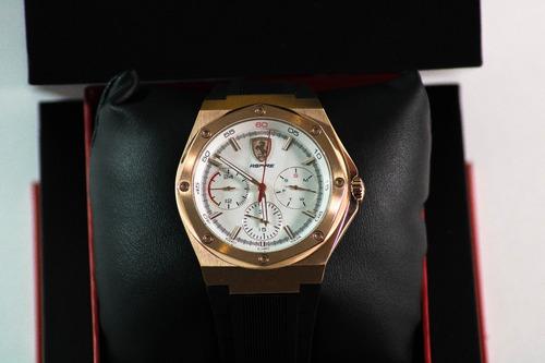 nuevo reloj de cuarzo aspire de scuderia ferrari