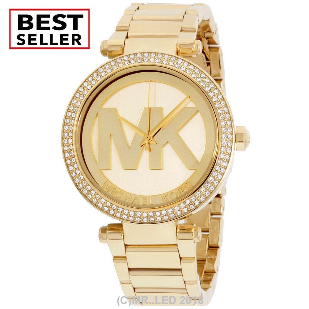 c2b85c80ca713 nuevo reloj de moda de acero inoxidable michael kors parker. Cargando zoom.