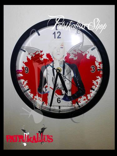 nuevo reloj de pared colores personalizado mas 1 poster