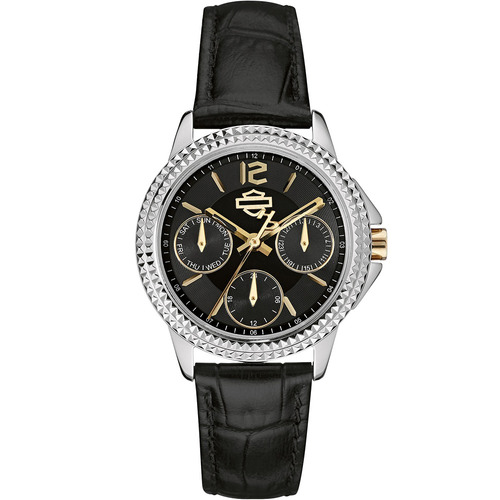 nuevo reloj harley davidson para mujer original 78n100