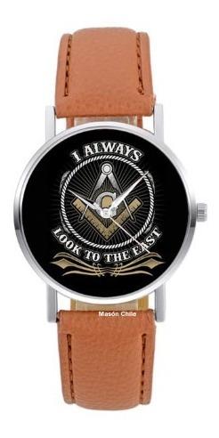 nuevo reloj masónico masón - exclusivo - premium - cafe