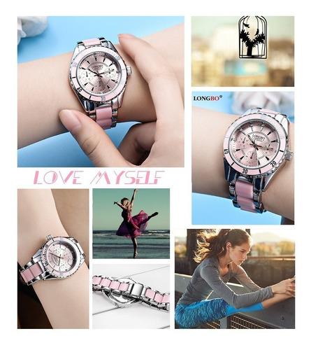 nuevo reloj platinum elegant fashion contra agua! inoxidable