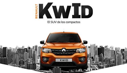 nuevo renault kwid life 1.0,100%financiado fo1