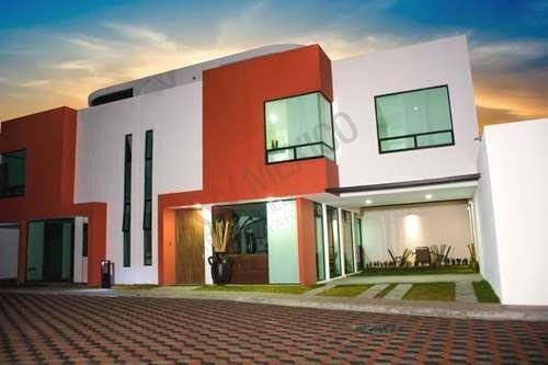 nuevo residencial  con diseño vanguardista en san mateo atenco metepec