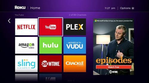 nuevo roku express smart tv hdmi netflix youtube streaming c/ remoto
