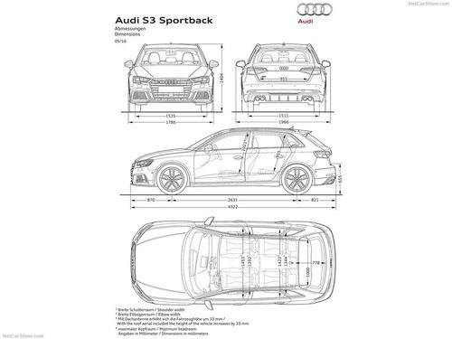 nuevo s3 sportback 2.0tfsi stronic quattro (310cv) tenelo ya