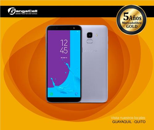 nuevo samsung galaxy j6 32gb 2018 single sim nuevo de paquet