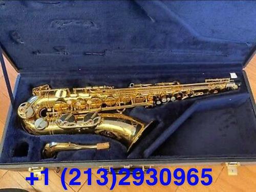 nuevo saxofón yamaha yts 23