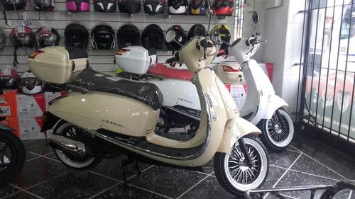 nuevo scooter beta tempo deluxe 150 cc moto vintage