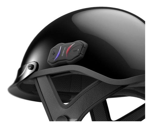 nuevo sena cavalry bluetooth integrado moto medio casco glo