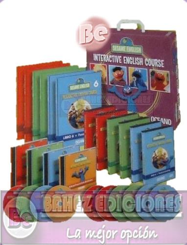 nuevo sesame english 6 vol + 6 dvd + 4 cd-room oceano