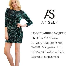 102411109d Vestido De Lentejuelas Verde - Vestuario y Calzado en Mercado Libre ...
