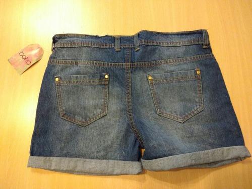 nuevo short de jean, con etiqueta