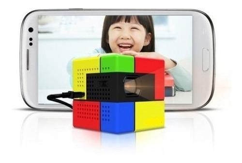 nuevo sk uo smart beam, mini proyector portátil, compatible